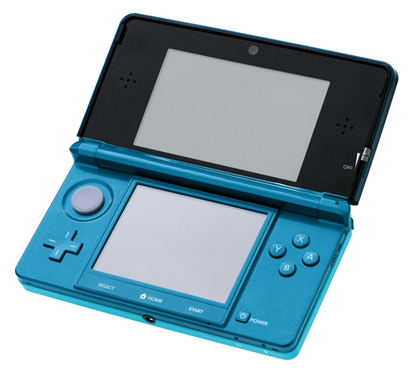 Original Aqua Blue Nintendo 3DS