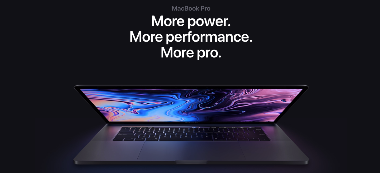 Macbook Pro 2019 Performance