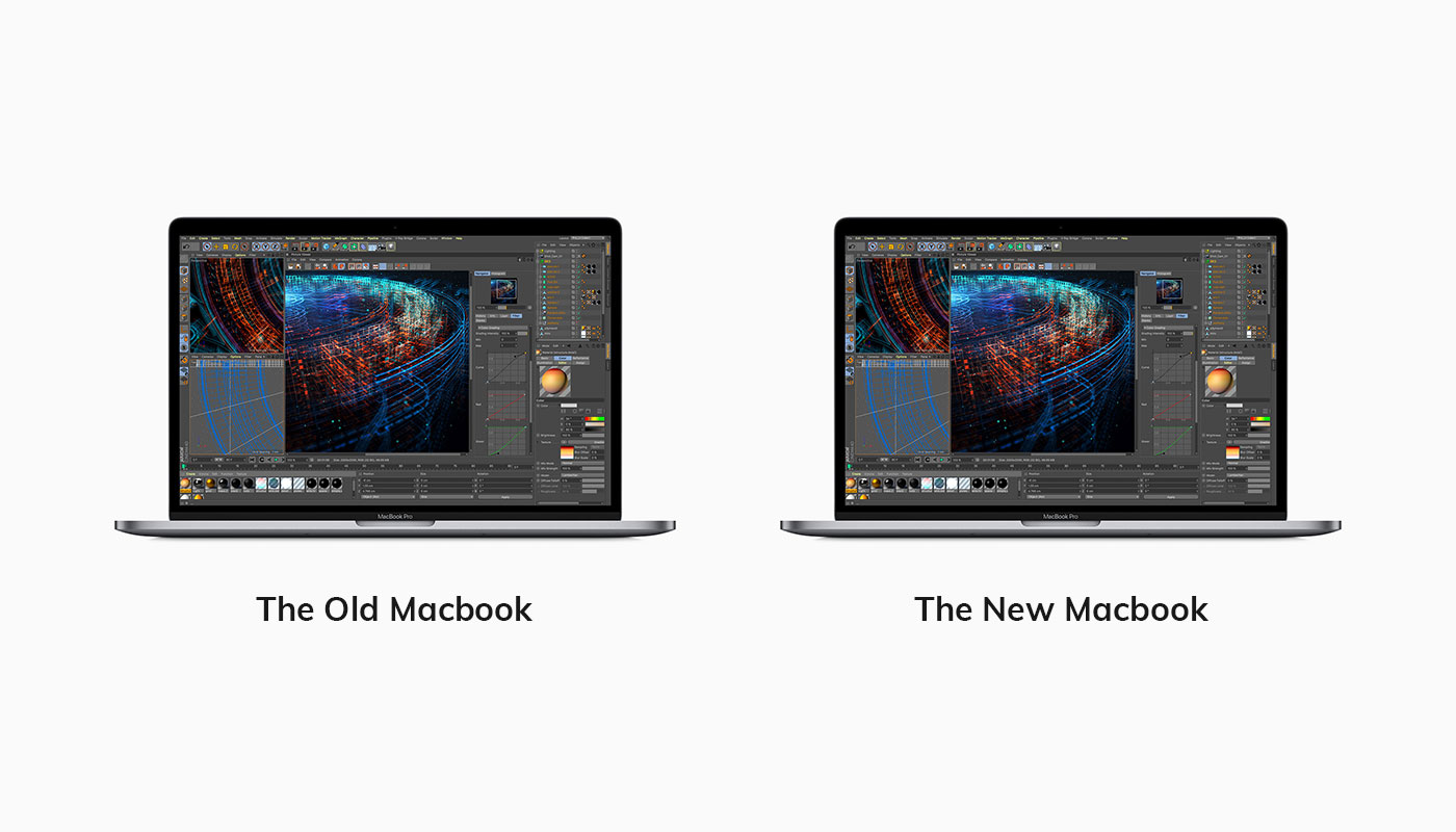 Compare Macbooks