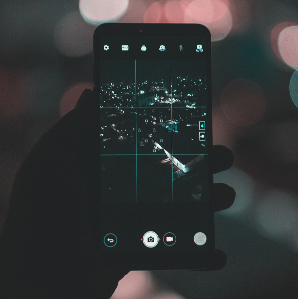 taking picture in the dark